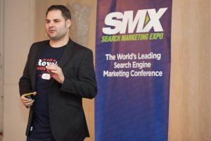 Timon auf der SMX 2012 als Speaker